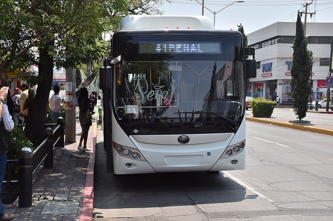 Regularizarán cumplimiento de rutas de camiones urbanos en Aguascalientes