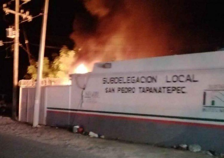 Incendian estación migratoria de mayor contención en Oaxaca
