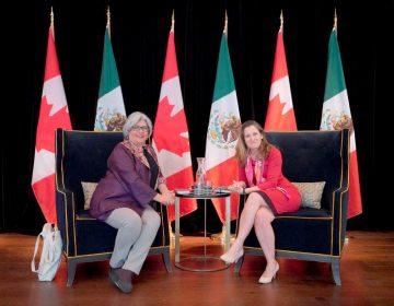 """""""Es hora de abolir los aranceles"""": México y Canadá hacen frente común ante política comercial de EU"""