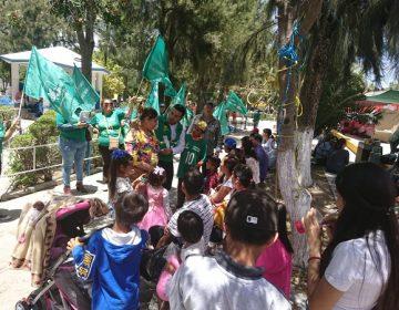 Propone candidato del PVEM expropiar La Pona y Bosque de Cobos