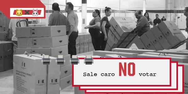 La abstención encarece el voto en Baja California