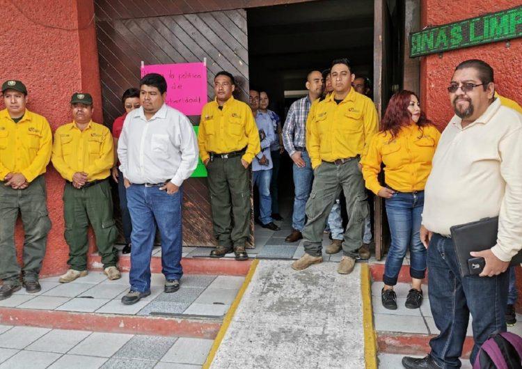 """""""Golpea"""" austeridad a combatientes de incendios forestales"""