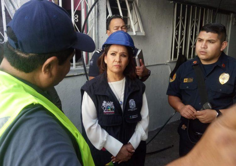 Apoya municipio a afectados por explosión en Pilar Blanco