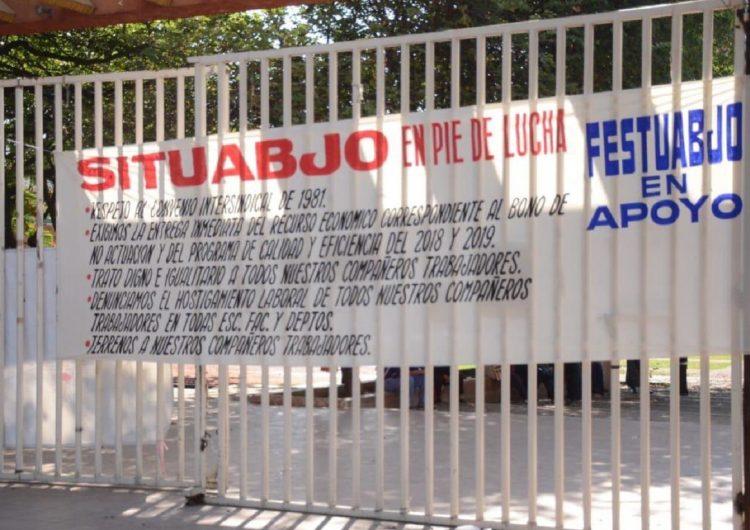 SITUABJO demanda bono por no estallar huelga en la Universidad y para actividades