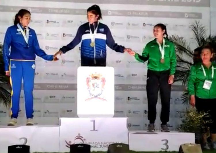 Guanajuatenses ganan tres medallas de oro en atletismo en la Olimpiada Nacional