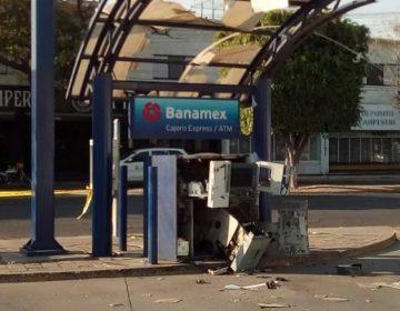 Explotan cajero automático en Irapuato