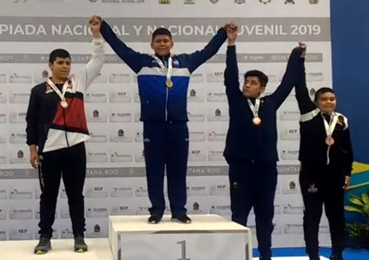 Guanajuatenses ganan cuatro medallas de oro en Olimpiada Nacional 2019