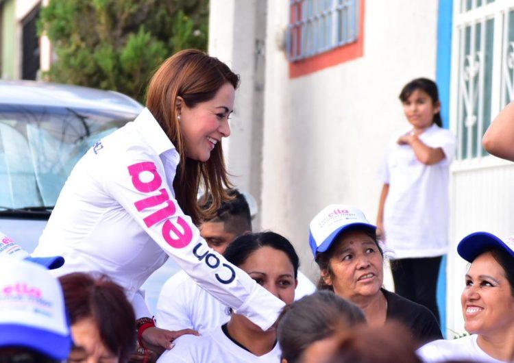 Tere Jiménez plantea mejorar la infraestructura e iluminación de comunidades