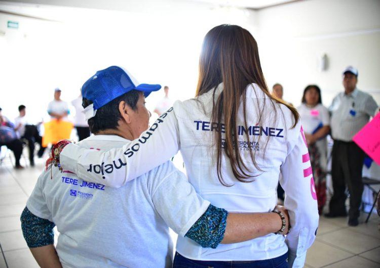 Buscará Tere Jiménez que los ciudadanos contribuyan a mejorar su entorno