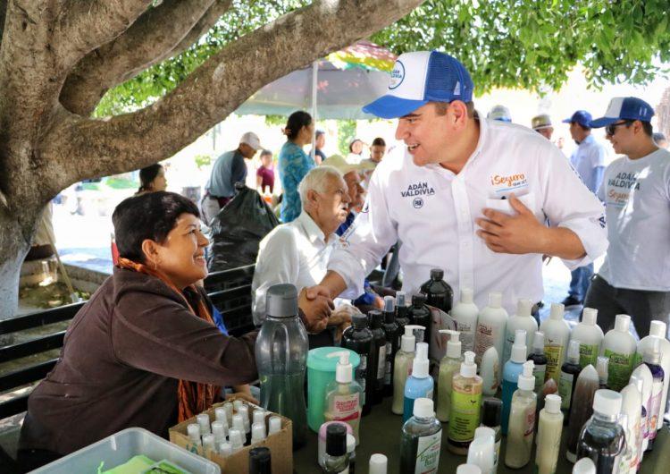 Buscará Adán Valdivia fortalecer el turismo en Calvillo para mejorar la economía
