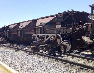 Descarrila ferrocarril en San Francisco de los Romo