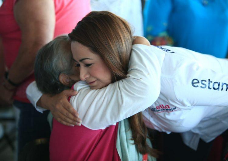 Buscará Tere Jiménez más apoyo para los adultos mayores a través de un Instituto Municipal