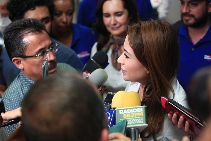 Pide Tere Jiménez debate de propuestas y no de ataques