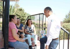 Toño Arámbula sostiene que su proyecto de trabajo beneficiará a Jesús María