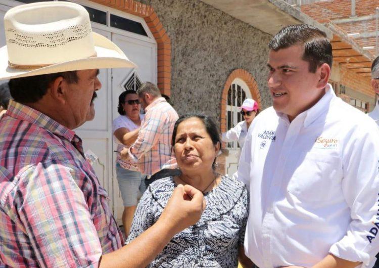 Los esfuerzo del PAN son en beneficio de la economía de Calvillo, dice Adán Valdivia