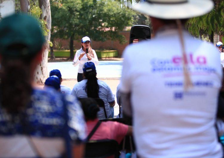 Tere Jiménez mantiene su compromiso por el cuidado del medio ambiente