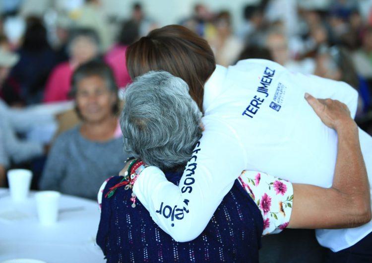 Buscará Tere Jiménez convenios con empresarios para dar empleo a adultos mayores
