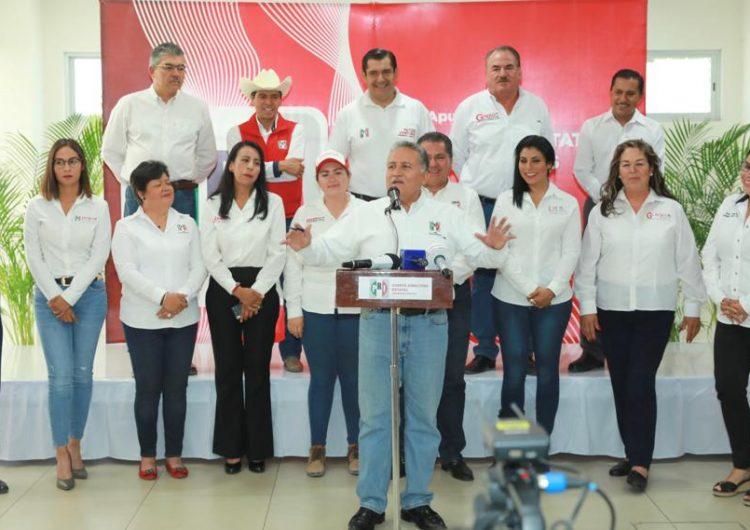 Los 11 candidatos del PRI se dicen satisfechos con sus campañas