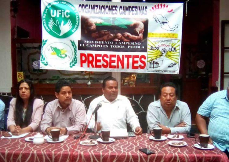 Campesinos piden cese a operativos contra vehículos