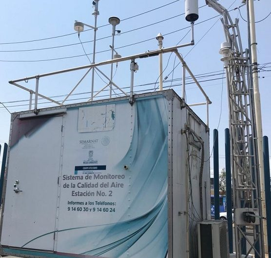 Supervisan estaciones de monitoreo atmosférico en Aguascalientes