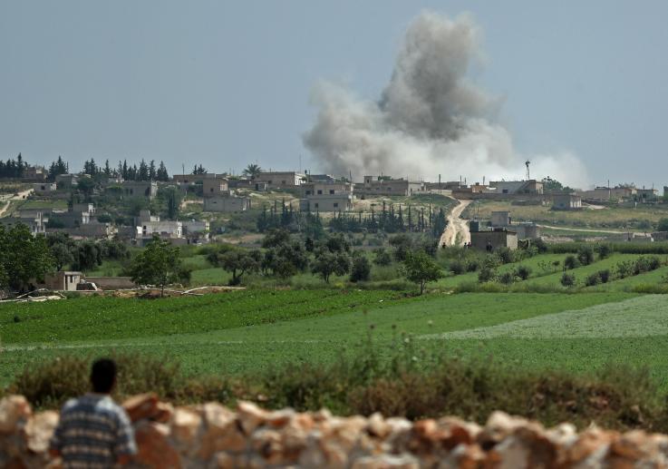 Mientras EU amenaza a Irán y Venezuela, Rusia intensifica ataques en Siria