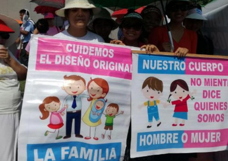 Frente por la Familia contra nuevos programas de estudio
