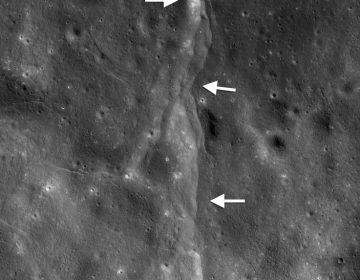 """La Luna está contrayéndose y provocando """"lunamotos"""" en la superficie"""