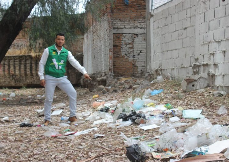 Desechos urbanos a cambio de productos de la canasta básica propone como acción Nathanael Saucedo