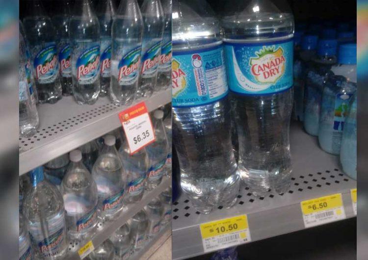 Continúa remate de bebidas Peñafiel en almacenes de Puebla