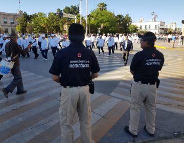 Saldo blanco en desfiles por el Día del Trabajo