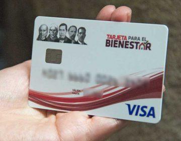 Recomiendan suspender tarjetas de la Secretaría de Bienestar