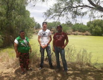 Chavelita Díaz buscará se deje de contaminar un lago ubicado en El Llano que ha dañado la salud de los habitantes