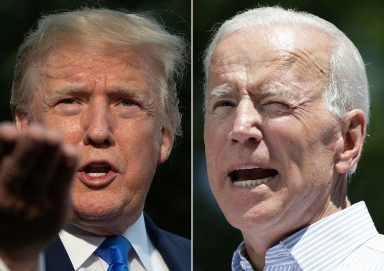 Trump ataca a Biden por su edad, aunque el demócrata le lleva solo tres años