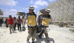 Bombardeos en Siria dejan un saldo de 45 personas fallecidas;…