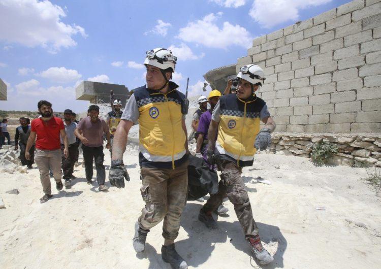 Bombardeos en Siria dejan un saldo de 45 personas fallecidas; 10 eran civiles