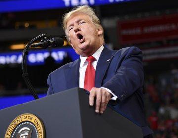 Trump lanza su campaña de reelección; presume que construcción del muro en la frontera avanza rápido