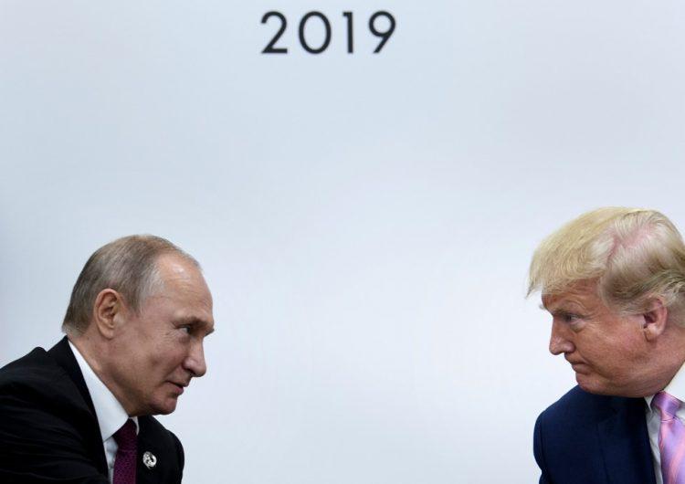 Trump hace una broma a Putin en medio de las tensiones del G20