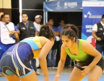 Luchadoras de Coahuila obtienen oro y bronce en la Olimpiada Juvenil