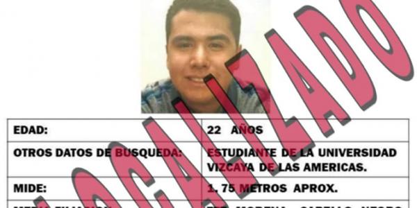 Localizan sin vida a estudiante desaparecido en Saltillo