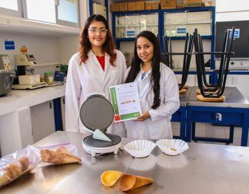 Crean alumnas de la UAA conos de helado con granos de cebada
