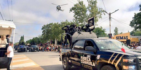 Balean instalaciones de Fuerza Coahuila en el municipio de Frontera