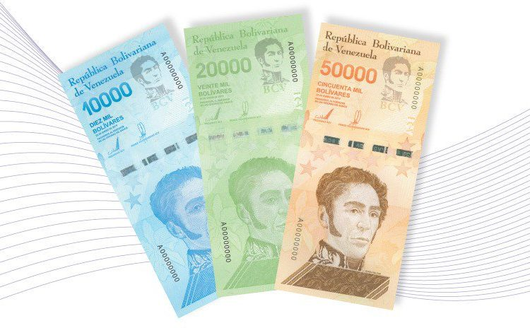 Venezuela le aumenta ceros a sus billetes por inflación