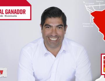 Armando Ayala: virtual ganador en Ensenada