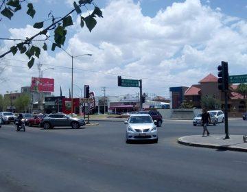 Provoca apagón contingencia vial en el norte de Aguascalientes