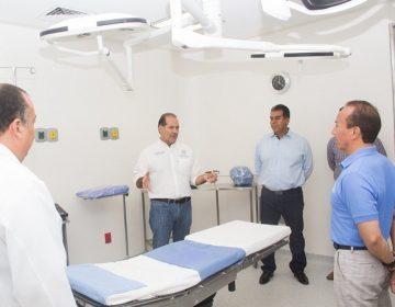 Entrega gobierno nuevos quirófanos en el Hospital General de Pabellón