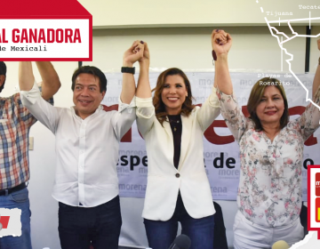 Marina del Pilar virtual ganadora de la alcaldía de Mexicali