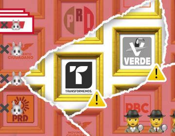 PES y  PVEM con pocos votos, ganan espacios de gobierno como coalición