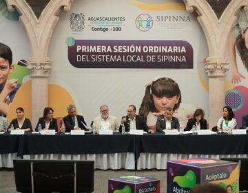 Instalan primera reunión del SIPINNA en Aguascalientes