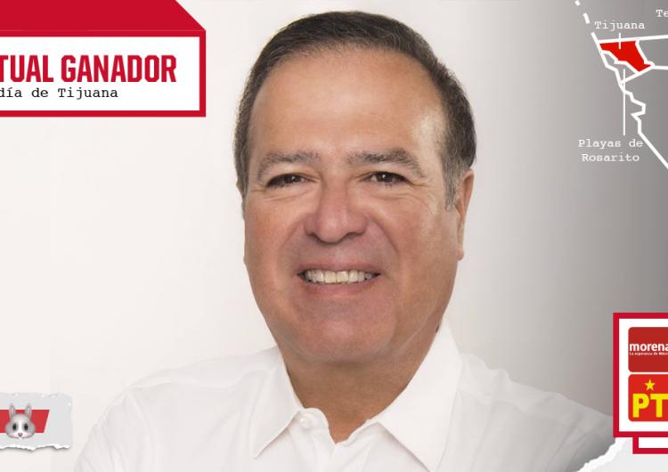 Virtual ganador en Tijuana, Arturo González Cruz