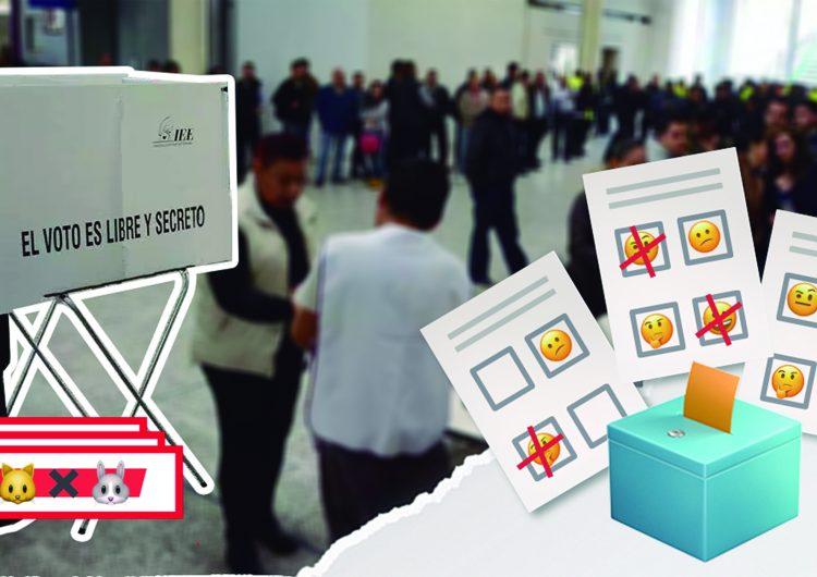 Aquí te explicamos los tipos de voto, como votar la boleta de manera correcta y su significado